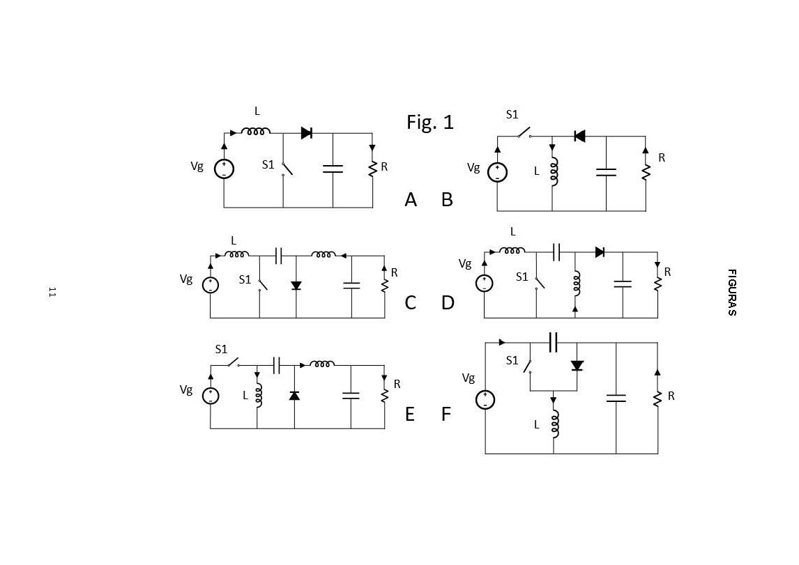 NEW CONFIGURATIONS OF CC-CC CONVERTERS OF ONE INPUT AND MULTIPLE OUTPUTS WITHOUT TRANSFORMER AND POWER CONVERTER THAT APPLY THEM