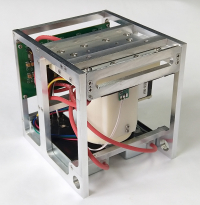 Electrostatic colloidal microthruster for CubeSat satellites