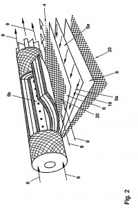Anti-telescoping device for spiral wound membranes