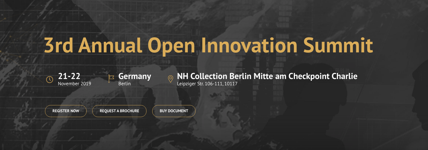 3rd Annual Open Innovation Summit